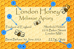 Thumbnail Example Honey Label